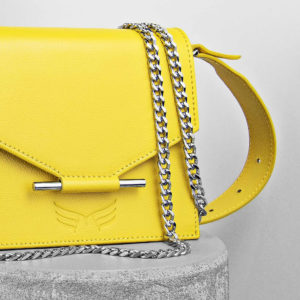 Maestoso Yellow Mini & Waist Bag