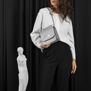 Maestoso Grey Sparrow Bag