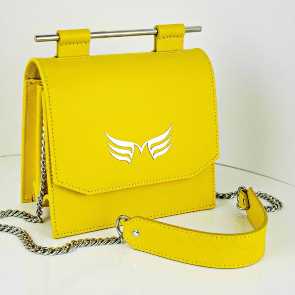 Maestoso Yellow Sparrow Mini Bag