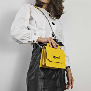 Maestoso Yellow Sparrow Mini Bag