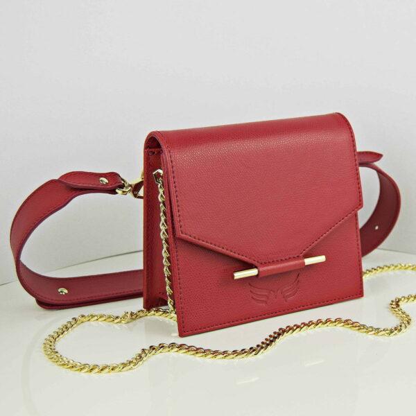 Maestoso Mini & Waist Bag Red