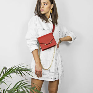 Maestoso Mini & Waist Bag Red