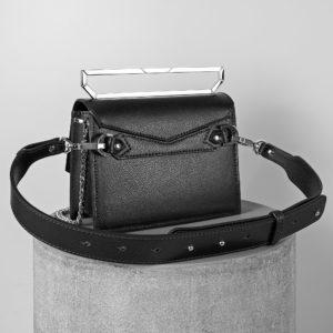 Maestoso Black Neri Leather Bag