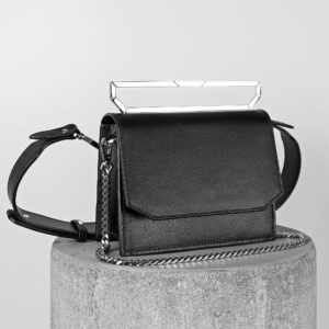 Maestoso Black Neri Leather Bag