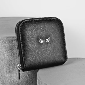 Maestoso Black Leather Wallet