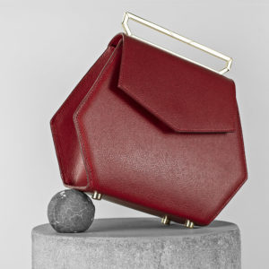 Maestoso Dark Red Renzo Leather Bag