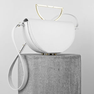 Maestoso The Muse White Leather Bag