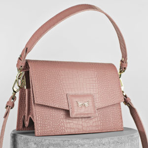 Maestoso Dusty Pink Croco Mini Dali