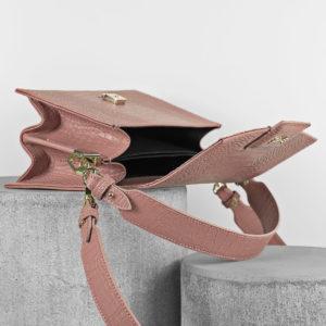 Maestoso Dusty Pink Croco Mini Dali