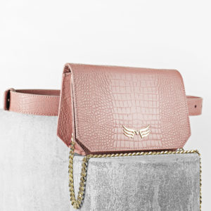 Maestoso Dusty Pink Croco Oscar