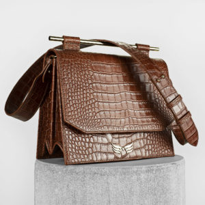 Maestsoso Brown Croco Moneo