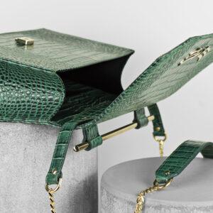 Maestoso Green Croco Skylark Queen