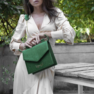 Maestoso Green Square Bag II