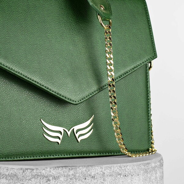 Maestoso Green Square Bag II