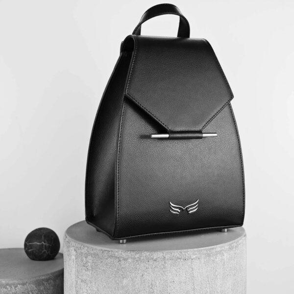 Maestoso Black Mini Backpack