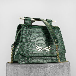 Maestoso Green Croco Mini Skylark Queen
