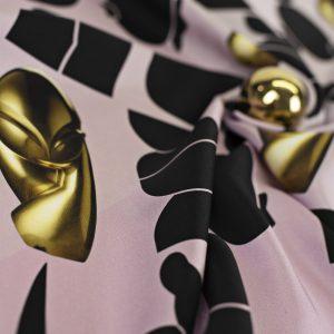 Maestoso Silk Scarf Brancusi Dusty Pink