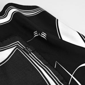 Maestoso Silk Scarf The Line Black