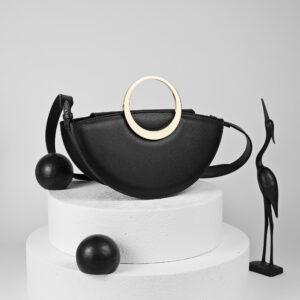 Maestoso Eclipse Black Bag