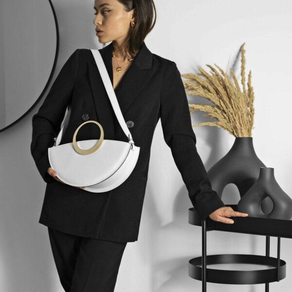 Maestoso Eclipse White Bag