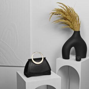 Maestoso Enso Mini Black Bag