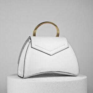 Maestoso Enso Mini White Bag